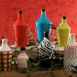 Olio Extra Vergine d'oliva Biologico in bottiglie di ceramica